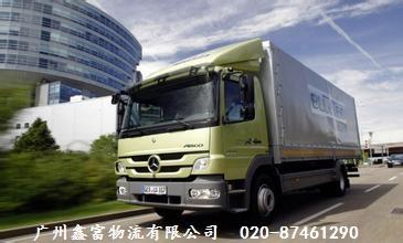 广州佛山往返至上海的货运专线