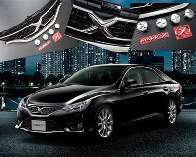 14款 丰田锐志X 标中网 锐志改装中网汽车中网高清图片