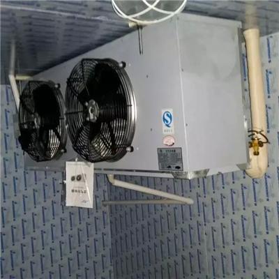 使蒸发器表面结霜层溶化或剥落;预冷库采取的是热气融霜方式,它将压缩图片