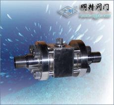 不銹鋼三段式高壓球閥