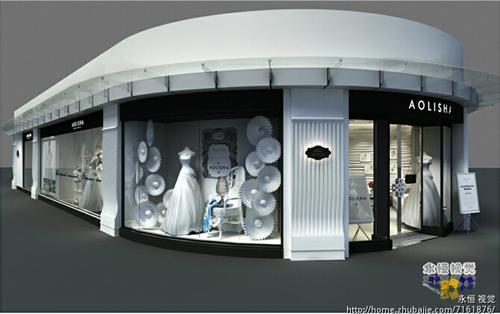 婚纱店装修效果图-影楼公司高清图片