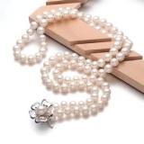 河南珍珠项链手工活加工不用出门在家创业