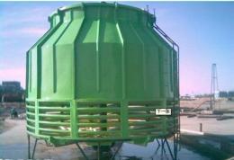 玻璃钢冷却塔 工业型玻璃钢冷却塔 圆形冷却