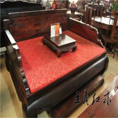 紅木床認準王義紅木高品質