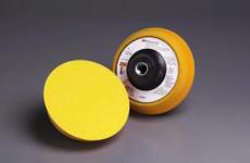 3M 14738 5寸背绒托盘 打磨机配件 抛光机