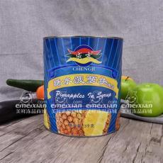 糖水菠蘿塊罐頭 美鮮
