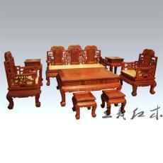 濟寧紅木沙發哪家的可以定制 王義紅木家具