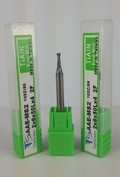 鎧鉅科技 TOPGREEN 2.0mm 二刃鎢鋼銑刀