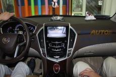 凱迪拉克原車屏升級凱立德導航行車記錄儀
