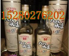 八八坑道淡丽42度高粱酒0.6公升黄色圆桶