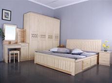 彭翔松木家具-卧室家具系列
