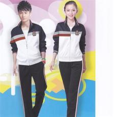 秋季2015新款中学生运动校服套装设计厂家定