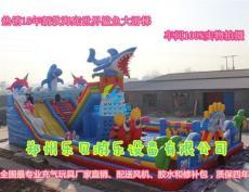 熊出没乐园 儿童充气滑梯大型充气蹦蹦床跳