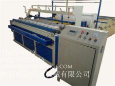 全自動落管衛生紙復卷機-衛生紙加工設備