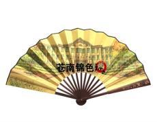 竹骨扇子厂家 专业定制折扇 订做绢布扇子