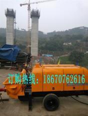 湖北武汉混凝土输送泵
