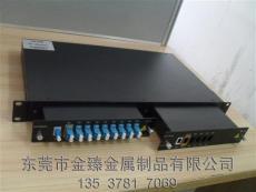供应1U铝型材机箱 1U铝合金机箱 1U面板机箱