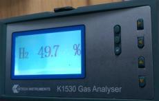 英国哈奇K1530火力发电内冷水箱氢气纯度检