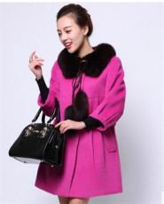 北京最便宜呢子大衣尾货批发 可以货到付款