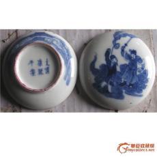 康熙瓷器印泥盒鑒定