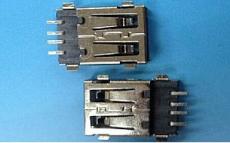 AF全貼USB 2.0沉板90度/四腳SMT 耐高溫