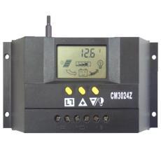 太阳能控制器12V24V30A双路输出数显自动识