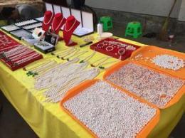 手工活加工在家创业珍珠饰品串珠火爆商机