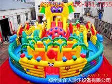 大象兒童充氣滑梯組合城堡價格